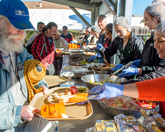 Pajaro valley loaves and fishes for Loaves and fishes volunteer